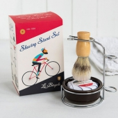 Le bicycle shaving stand set
