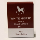 White Horse After Shave Lotion