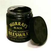 Murray's Beeswax - black